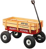 /#22W All−Terrain Steel&Wood Wagon